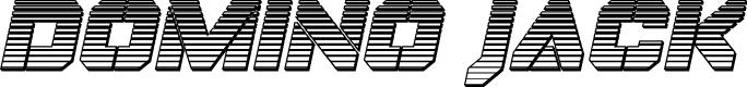 Preview image for Domino Jack Chrome Italic Italic
