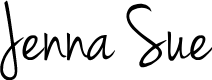 Preview image for Jenna Sue Font