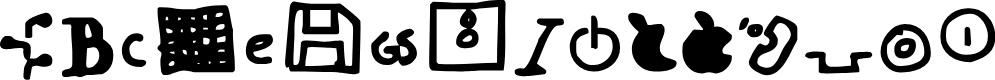 Preview image for Dot Com Font