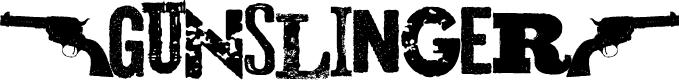 Preview image for Gunslinger Font