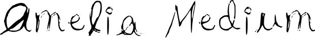 Preview image for Amelia Medium Font