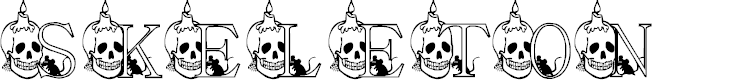 Preview image for KG SKELETON Font