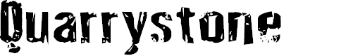 Preview image for Quarrystone Regular Font