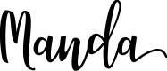 Preview image for Manda Font