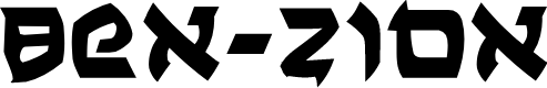 Preview image for Ben-Zion Font