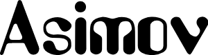Preview image for Asimov Font