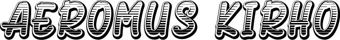 Preview image for Aeromus Kirho Font