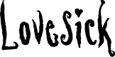 Preview image for Lovesick AOE Font