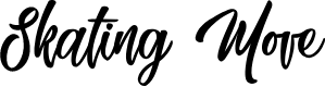Preview image for Skating Move Font