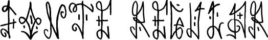 Preview image for Fonte Regular Font