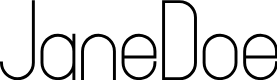 Preview image for JaneDoe Font