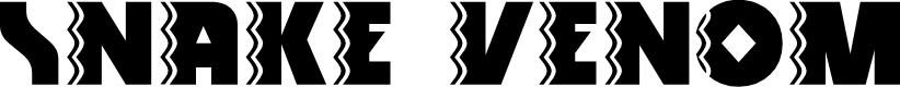 Preview image for Snake Venom Font