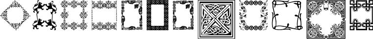 Preview image for CaixinhasDecorativas Font