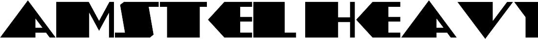 Preview image for AmstelHeavyNF Font