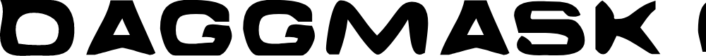 Preview image for Daggmask Normal Font