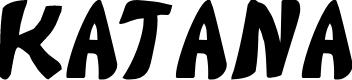 Preview image for Katana Font
