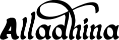 Preview image for Alladhina Font
