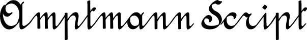 Preview image for Amptmann Script