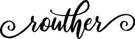 Preview image for routher Font