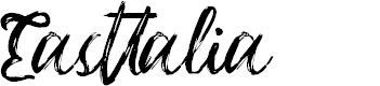Preview image for Easttalia Font