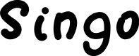 Preview image for Singo Font