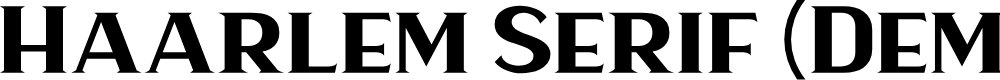 Preview image for Haarlem Serif (Demo)