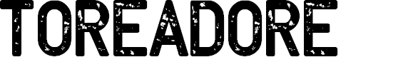 Preview image for Toreadore Font