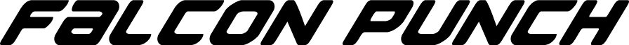 Falcon Punch Italic