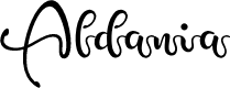 Preview image for Aldania Font