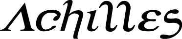 Preview image for Achilles Expanded Italic