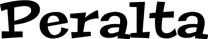 Preview image for Peralta Font