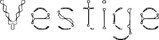 Preview image for Vestige Font