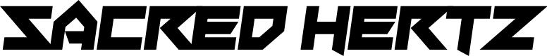 Preview image for Sacred Hertz Font