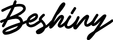 Preview image for Beshiny Font