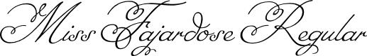 Preview image for Miss Fajardose Regular