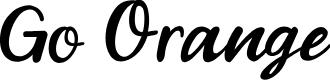 Preview image for Go Orange Font