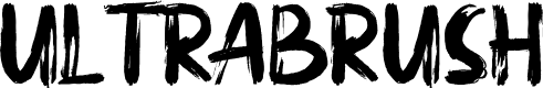 Preview image for ULTRABRUSH Font