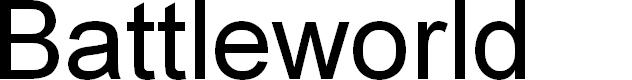Preview image for Battleworld Font