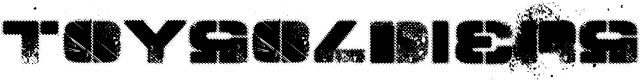 Preview image for TOY_SOLDIERS  Bold Font