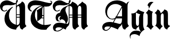 Preview image for UTM Agin Font