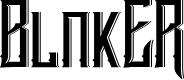 Preview image for Blnker Font