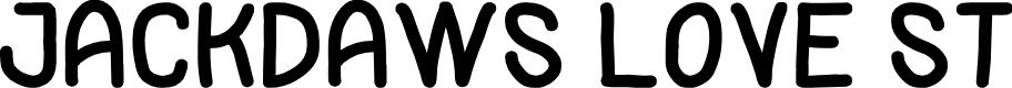 Preview image for Jackdaws Love St Font