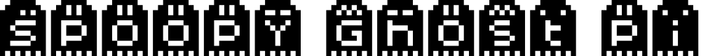 Preview image for Spoopy Ghost Pixels Font