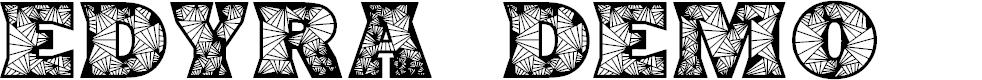 Preview image for Edyra Demo Font