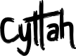 Preview image for Cyttah Font