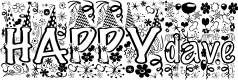 Preview image for HAPPYdave Font
