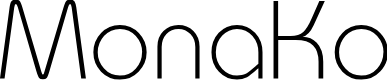 Preview image for MonaKo Font