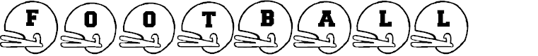 Preview image for BJFootball Font