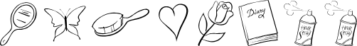 PrincessOT font