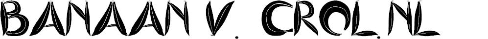 Preview image for BANANASPLIT Font